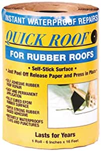 Amazon Com Cofair Rqr616 6 Quot X16 Rubber Quick Roof Patch