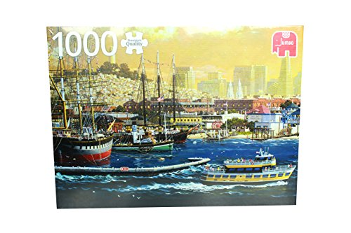 Games San Francisco Giants Puzzle (Jumbo the Harbour of San Francisco USA Jigsaw Puzzle (1000 Piece))