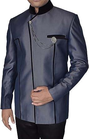 INMONARCH Mens Dark Navy 2 Pc Jodhpuri Coat with Breeches JO0179