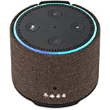 Battery for Echo Dot, Intelligent Portable 7000mAh Capacity Battery Power Bank Charger for 2nd Gen Echo Dot by Wasserstein (Brown)