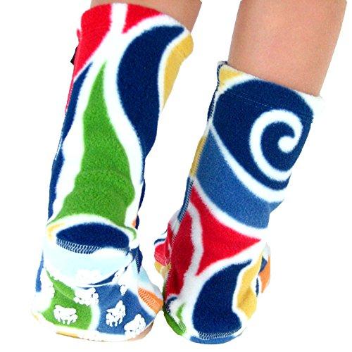 Polar Feet Kids' Socks Nonskid Curlz S by Polar Feet (Image #2)