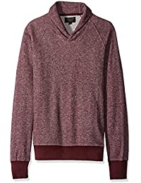 ROGUE Men's Marled Shawl Neck Sweater