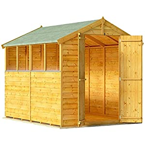 Overlap Garden Shed 6x8 Apex BillyOh
