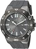 Invicta Men's 'Pro Diver' Quartz Stainless Steel and Polyurethane Casual Watch - Color:Grey (Model: 23512)