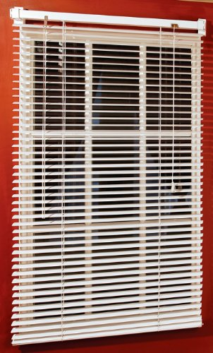 Magne Blind 40-Inch Vinyl Mini Blind with 1-Inch ()