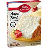 Betty Crocker Super Moist Fat Free Cake Mix Angel Food 16.0 oz Box