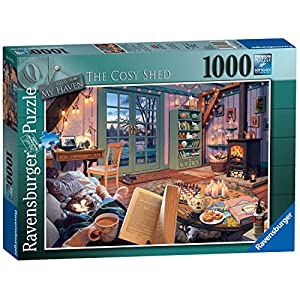 Ravensburger My Haven No 6 The Cosy Shed Puzzle Da Pezzi