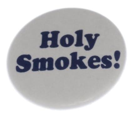 Amazon.com: Holy Smokes. Llavero de 2.25