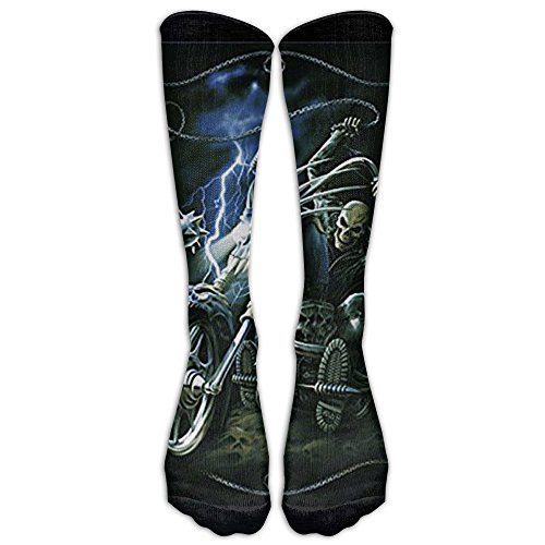 Ghost Rider Staff (Ghost Rider Athletic Tube Stockings Women's Men's Classics Knee High Socks Sport Long Sock One Size)