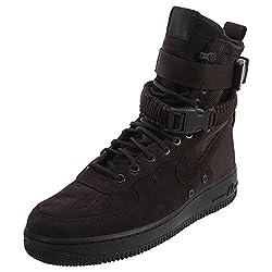 Nike Men's Sf Af1 Velvet Brownvelvet Brown Basketball Shoe 9.5 Men Us