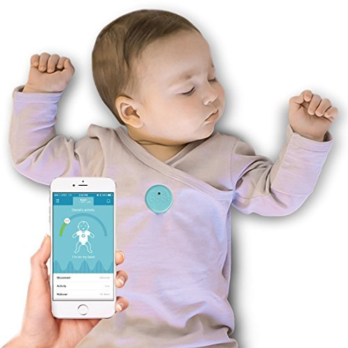 Baby Monitor for Breathing and Movement (Blue) by MonBaby