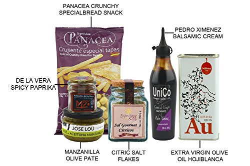 Gourmet Spanish Food Gift Basket - Imported From Spain. ChefOle Picasso Box Set. (Artisan Food Gifts)