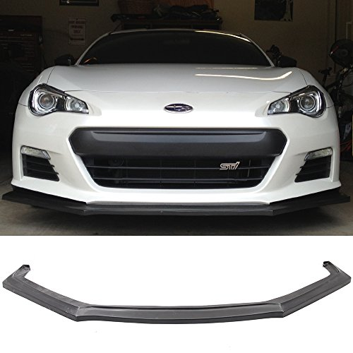 Style Bumper Front Lip - Limited Time Special Price Fits 13-16 Subura BRZ IKON Style Front Bumper Lip PU