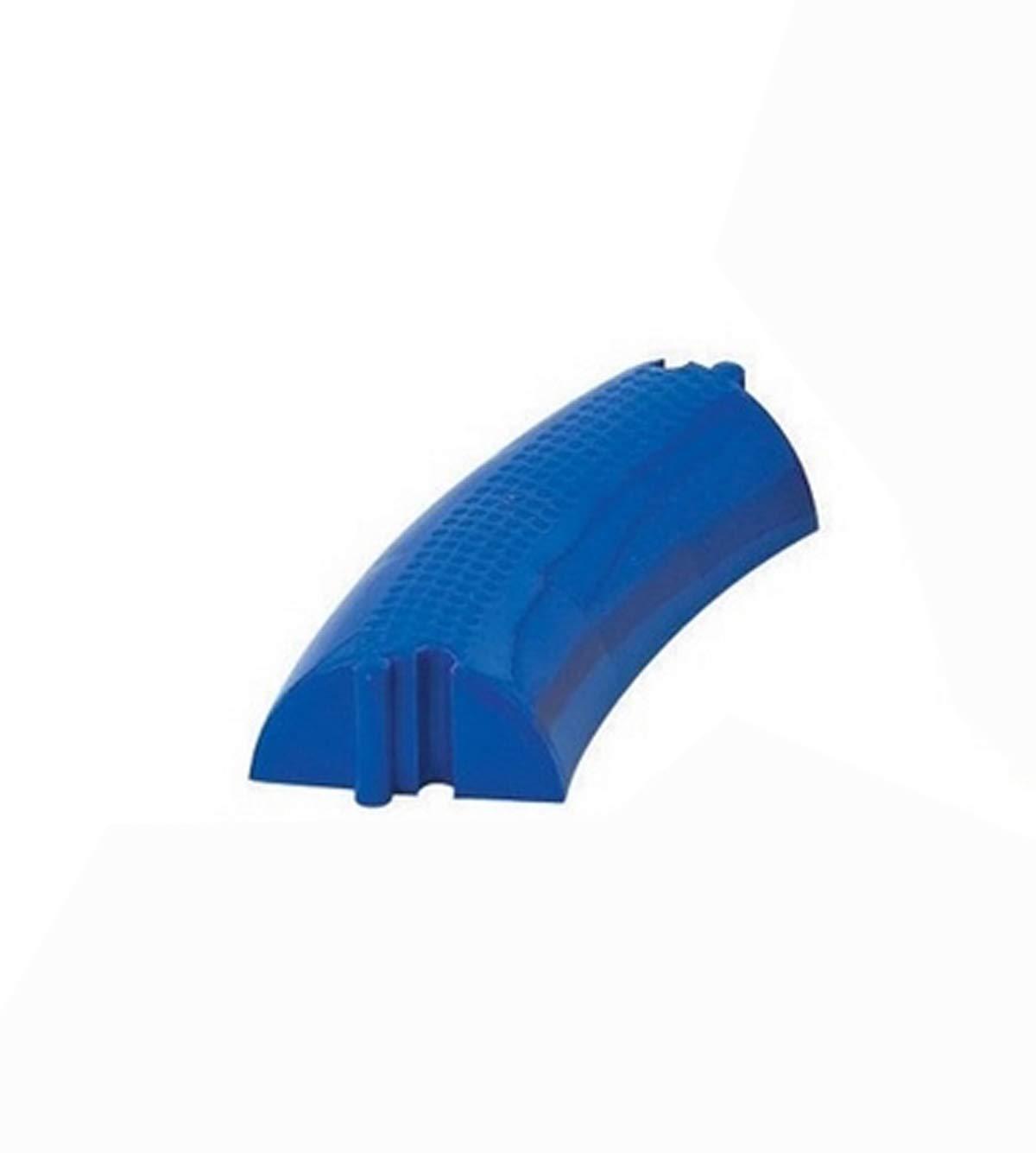 Visiodirect Poutre d'équilibre Courbe Coloris Bleu - Dimensions : 30 x 12 x 6 cm