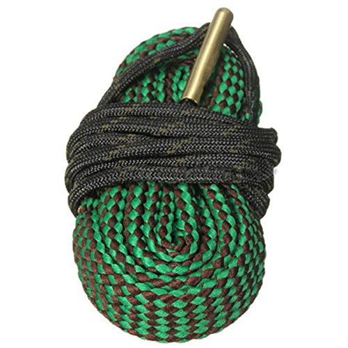 Idealplast New Green Bore Snake Rope 22 Cal 5.56mm 223 Caliber Hunting Gun Accessories Gun ()