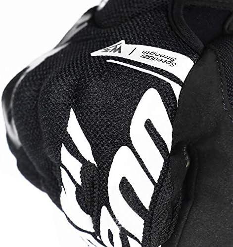 Chine DJLHN2020 Gants de Moto d/ét/é Casque Complet pour Homme Moto Gants de Motocross Gants de Moto Respirants int/égraux Jaune XXL