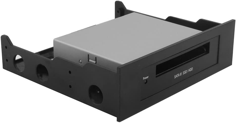 SATA III Internal 2.5 HDD//SSD Dock Includes 5.25 CD ROM Bay mounting kit SEDNA