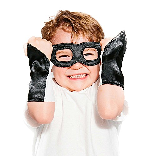 Superhero Eye Mask and Powerbands – Kids