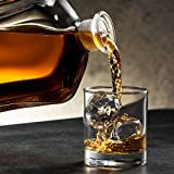 Paksh Capitol Glass Decanter with Airtight