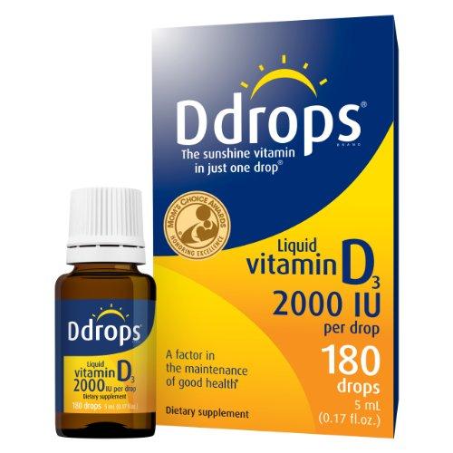 Ddrops® 2000 IU 180 drops