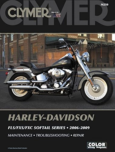 amazon com clymer harley davidson fls fxs fxc 06 09 manual m250 rh amazon com 03 Harley Davidson Torque Specs Harley-Davidson Parts Catalog Manuals