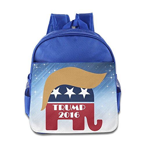 Deplorable Trump 2016 Kids Backpack School Bag For Boys/girls - Gucci Turtle