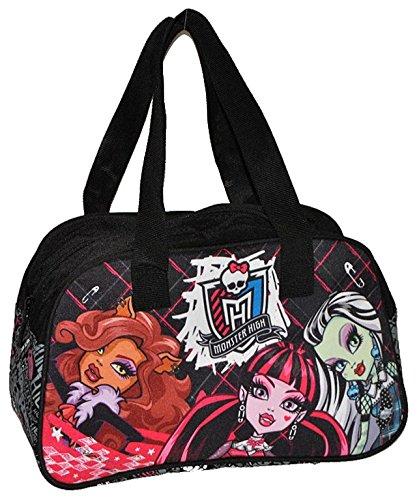 Monster High Sporttasche / Reisetasche / Tragetasche - Tasche für Mädchen als Sportbeutel wasserabweisend Vampir