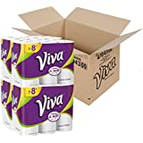 Viva STRONG and SOFT towels, 24 Big Plus Rolls, Choose-A-Sheet* Paper Towels