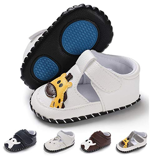 Used, Baby Boys Girls Slippers PU Leather Cartoon Shoes Soft for sale  Delivered anywhere in USA