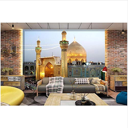 Smydp Wall Stickers Murals Wallpaper Photo The Imam Ali Mosque in The City Decorative Painting Room Wallpaper for Walls 3D Wall Murals - The Imam Mosque