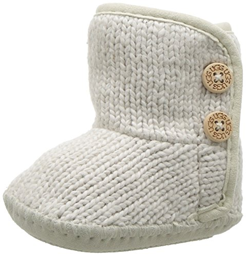 I PURL Boot, Ivory, 1 M US Infant (Sheepskin Baby Booties)