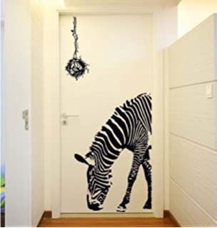 Wall Pops WPS Peel And Stick Go Wild Zebra Decals Inch X - Vinyl wall decals animals