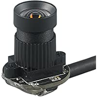 Spinel Miniature VGA USB Camera Module OV7740 with Non-distortion Lens FOV 80 degree, Support 640x480@60fps, UVC Compliant, Support most OS, Focus Adjustable, UC03MPC_ND