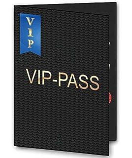30 X VIP Pass Einladungskarten Als Klappkarte Einladung Geburtstag Auf  Wunsch Mit Foto 30 Stück