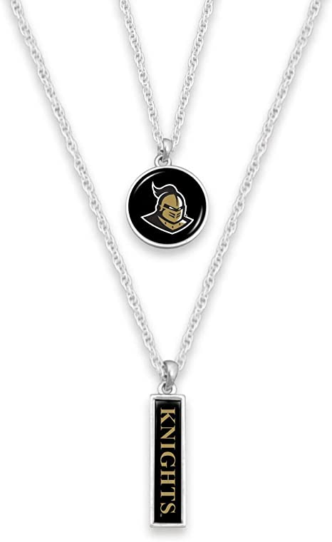 FTH U.S Includes Earrings and Necklace Navy Logo Silver Tone Jewelry Combo