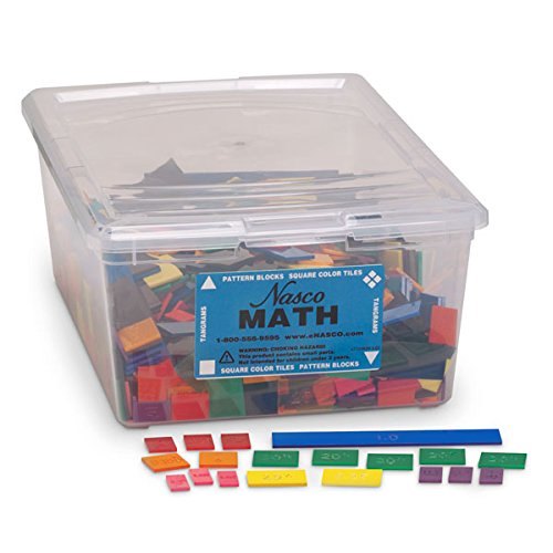fraction classroom kit math manipulatives tiles 3rd 4th grade