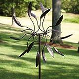 Evergreen Enterprises 489044 Twirler Powder Coated Metal Kinetic Garden Art