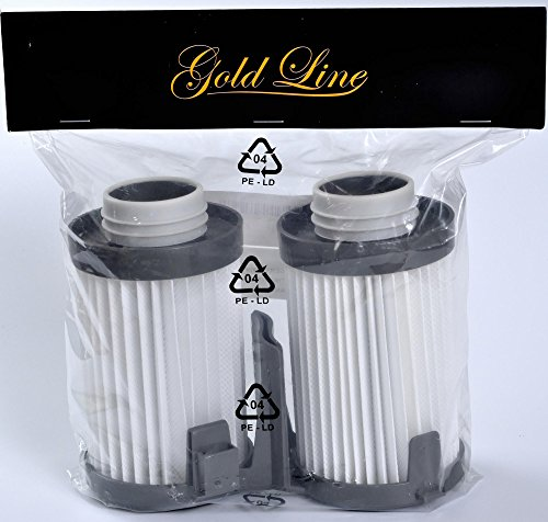 2 Eureka Type DCF-10/DCF-14 Washable & Reusable Vacuum Filters (2 Pack); replaces part # 62396, 62731 for Eureka Optima 430 series Vacuum Cleaners. Genuine Gold Line filter (Eureka Pet Lover 439az compare prices)