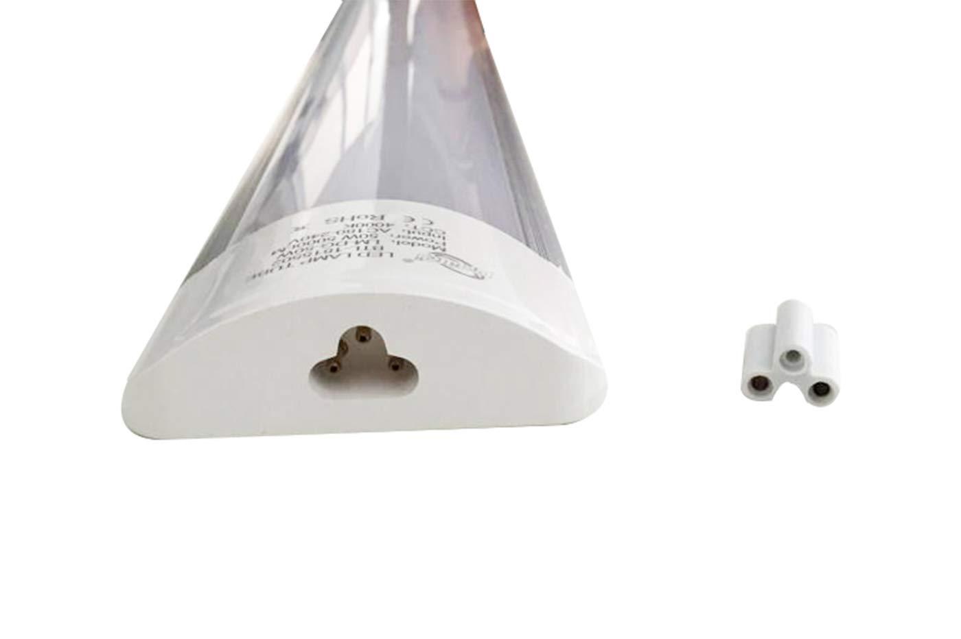 Plafoniera Led Luce Fredda : Plafoniera led 20w watt luce fredda 60cm slim smd soffitto 220v