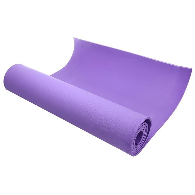 Yoga Mat EXCERSIZE Mat - Utilidad 3 colores 6 mm EVA Yoga ...