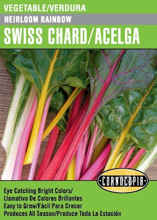 amazon com heirloom rainbow swiss chard acelga spanish english rh amazon com