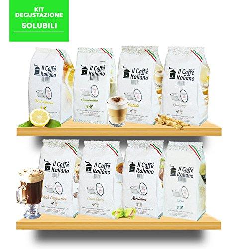 80 Cápsulas de Soluble compatibles A modo mio - kit degustación de 80 cápsulas soluble compatible
