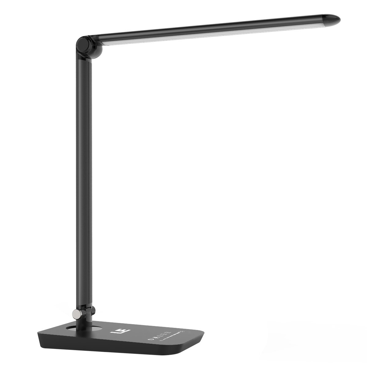 LE Dimmable LED Desk Lamp Office Table Lamp 7-Level Dimmer 3 Colour Modes Touch Sensitive Control Folding Reading Lights 8W [Energy Class A+] Lighting EVER