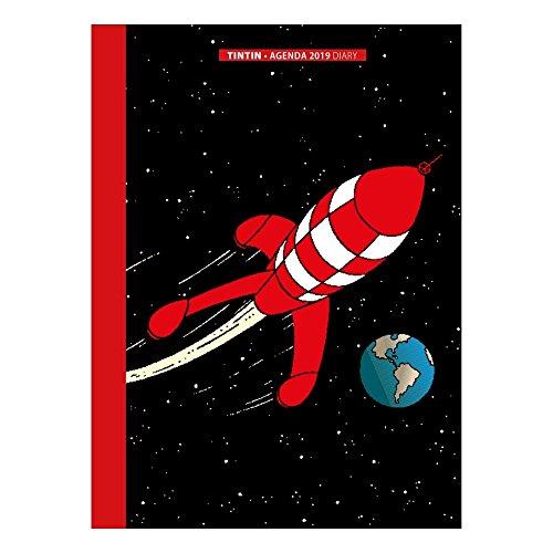 2019 Office diary agenda Tintin The Moon Adventure 15x21cm - Calendar Tintin