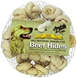 Rawhide Brand 2-Inch Natural Safety-Knot Bones, 12 Per Pack, Mesh/Hdr For Sale