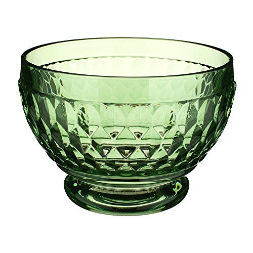 (Villeroy & Boch Boston Glass Bowl Set of 4, Green)