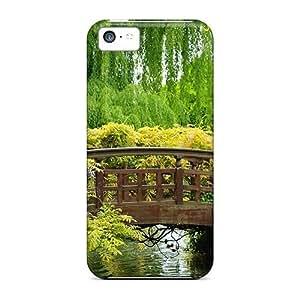 Awesome NadaAlarjane Defender Tpu Hard Case Cover For Iphone 5c- Spring Bridge