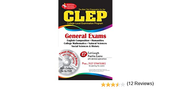CLEP General Exams w/ CD-ROM (CLEP Test Preparation): Joseph A ...