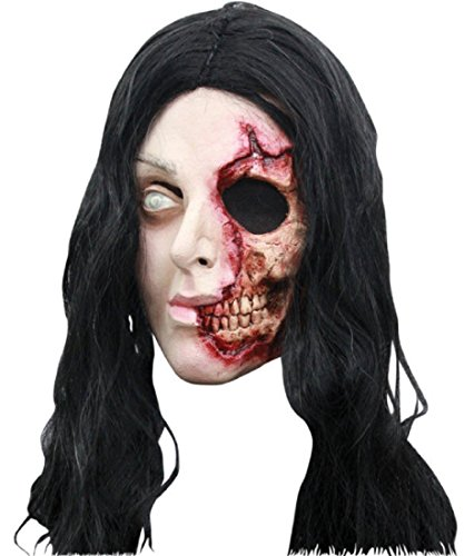 Pretty Zombie Woman Mask - ST]()