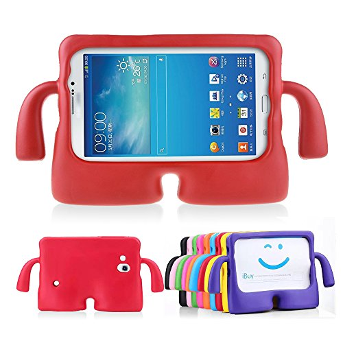 Lioeo Samsung Galaxy Tab 3 Kids Friendly Case Tab 3 Lite Childproof Anti-slip Cases 7 Inch by Lioeo (Samsung Tablet 3 8 Cases)